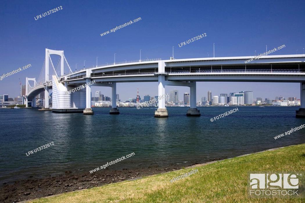 Stock Photo: Rainbow bridge.
