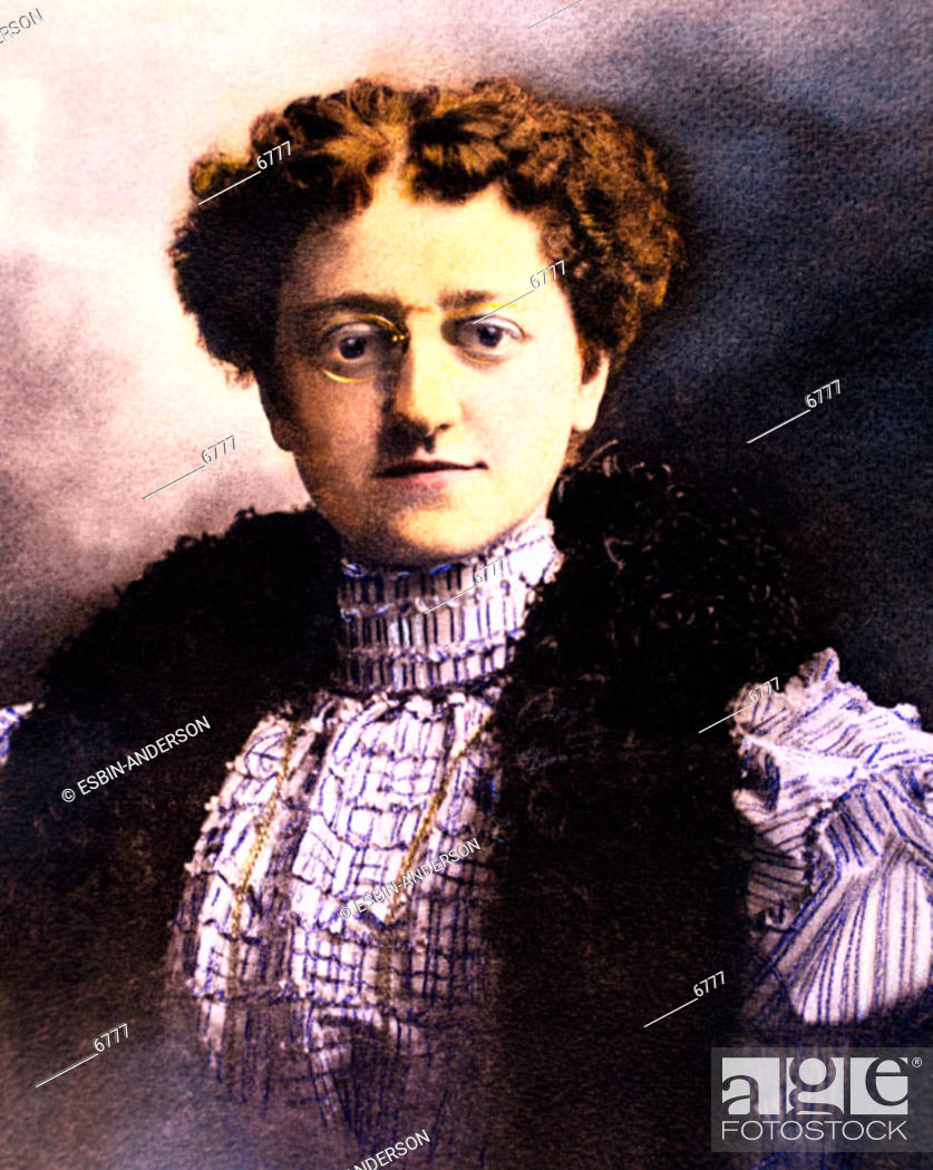 Stock Photo: Historical portrait of a woman.
