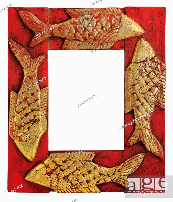 Stock Photo: World symbols: Frame.