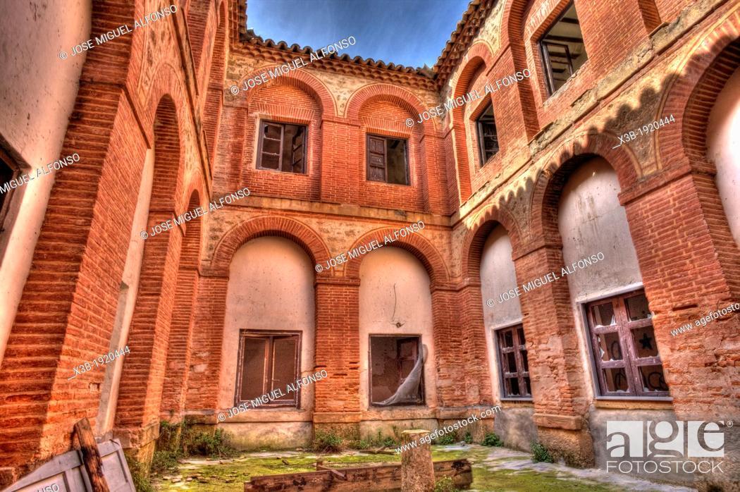 Stock Photo: Convento de la Concepcion  Almonacid de Zorita, Guadalajara, Spain.