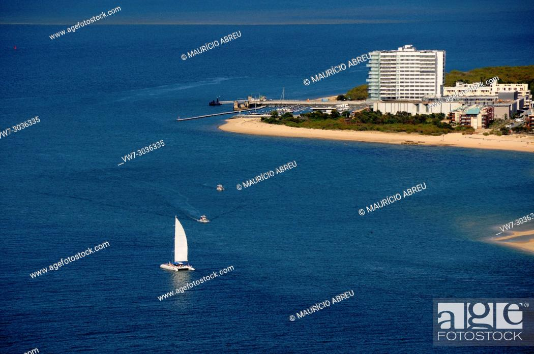 Stock Photo: Tróia peninsula and beaches. Grândola, Portugal.
