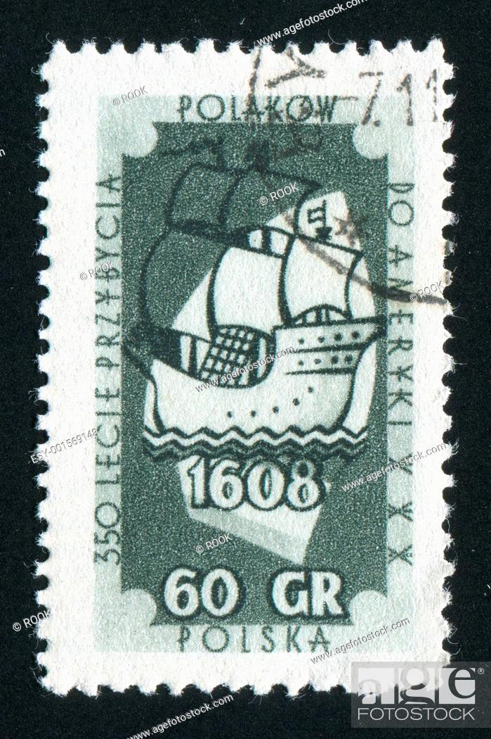 Photo de stock: postmark.