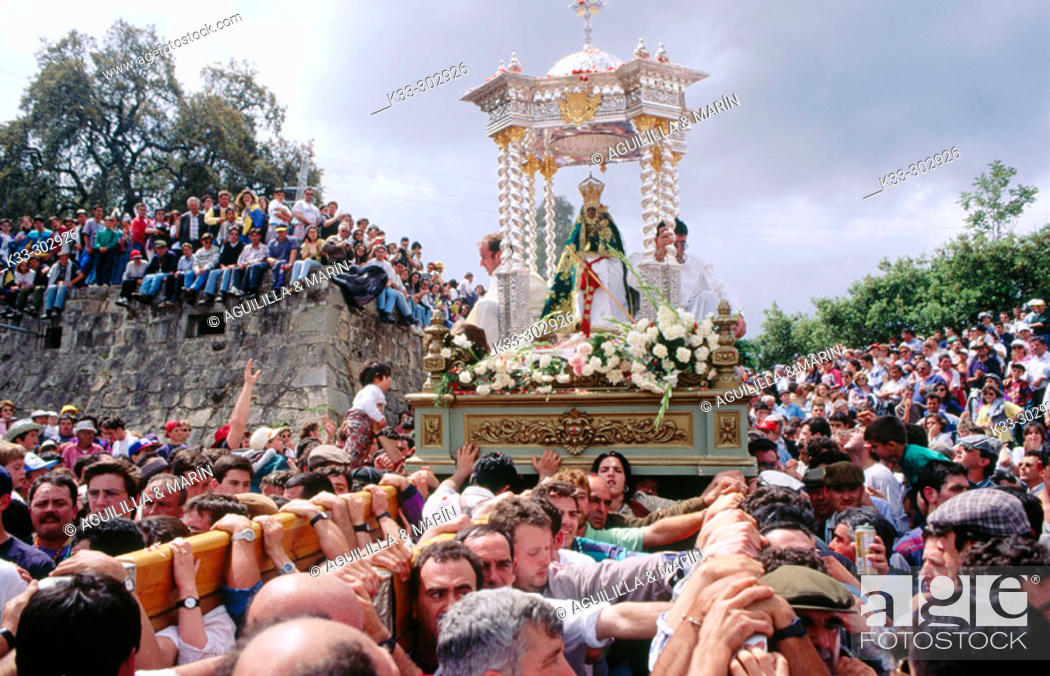 Stock Photo: Virgen de la Cabeza. Andujar. Jaen province. Andalucia. Spain.