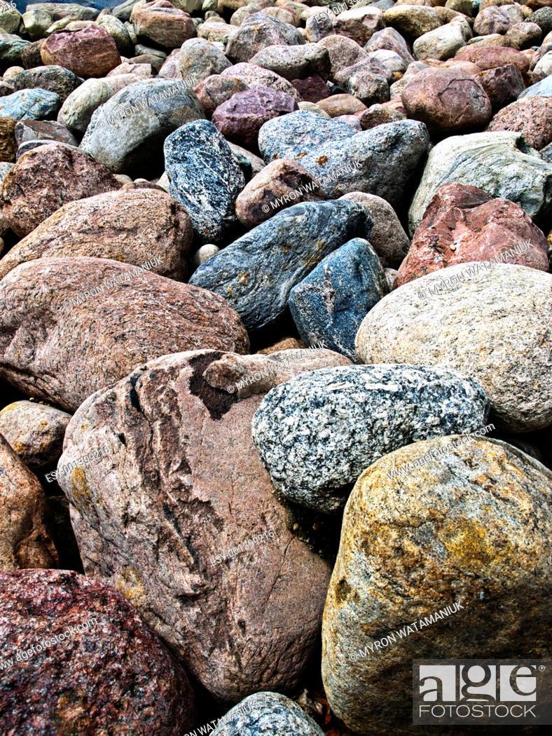 Stock Photo: Boulders.