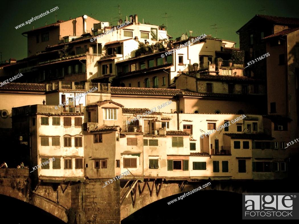 Stock Photo: Ponte Vecchio. Florence. Italy.