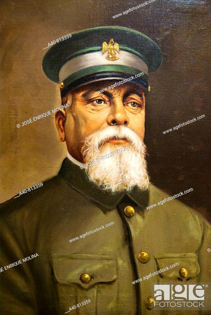 Stock Photo: Mexican General  Jesus Carranza Garzal (1857/1915), brother of Venustiano Carranza and army generals revolutionary constitutionalist.