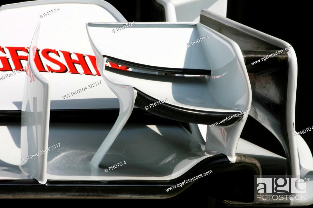 Stock Photo: Sahara Force India Formula 1 Team, F1, Indian Grand Prix, New Delhi, India.