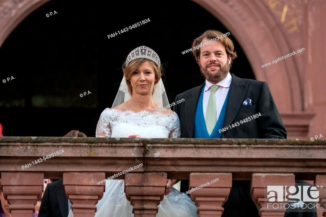 Religious Wedding Of Hereditary Prince Ferdinand Of Leiningen And Princess Viktoria Luise Von Stock Photo Picture And Rights Managed Image Pic Pah 1443 94851804 Agefotostock