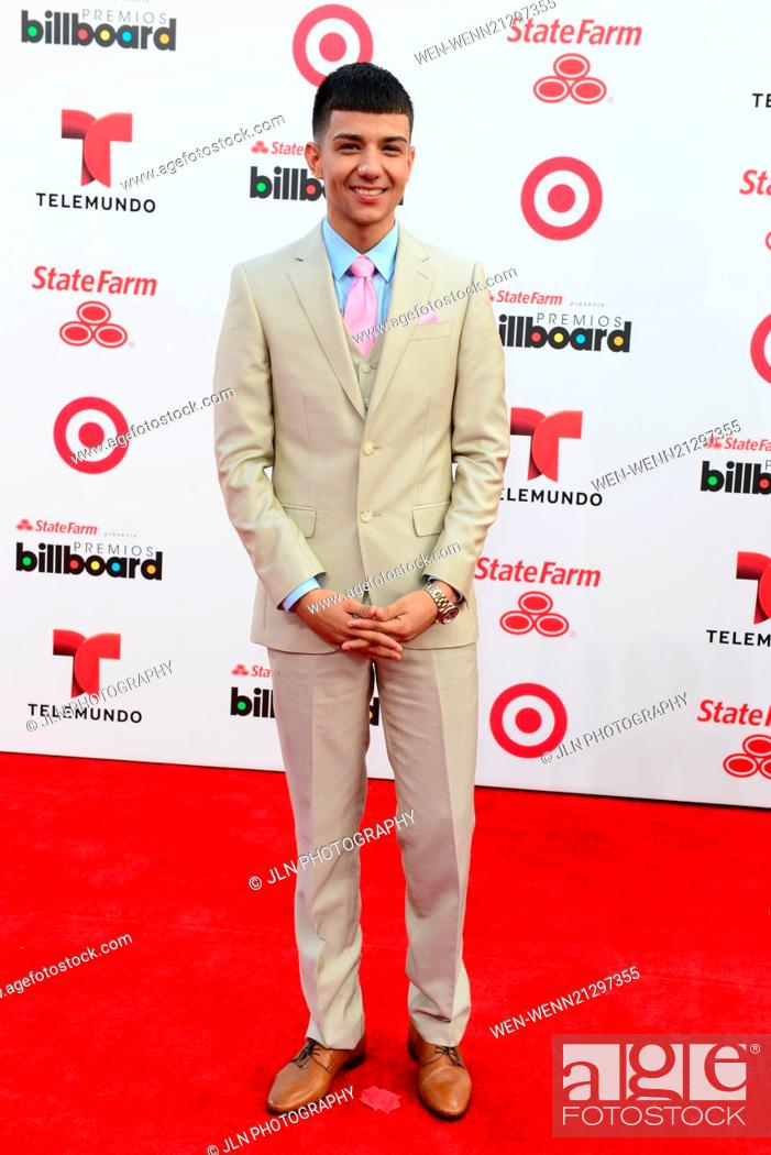 Presenters performers and nominees meet fans and media across the stock photo presenters performers and nominees meet fans and media across the red carpet at the latin billboard arrivals 2014 featuring luis coronel m4hsunfo