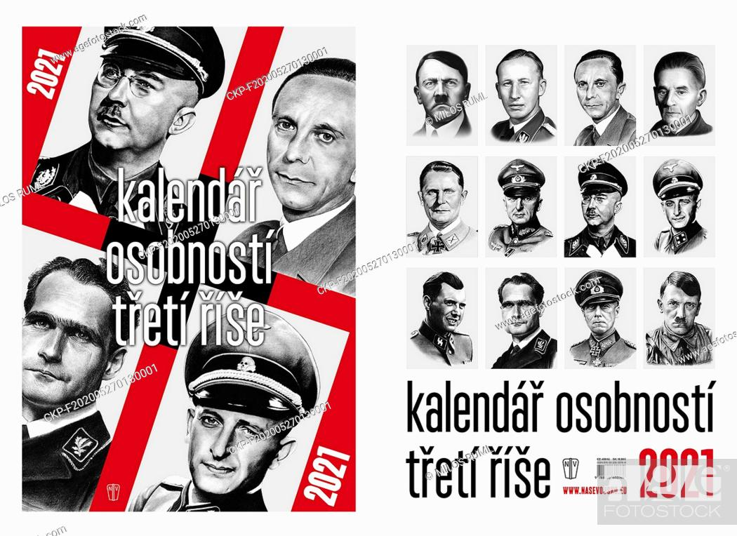 Stock Photo: The chairman of the Holocaust Victims Fund, Michal Klima, has filed a criminal complaint against the publication of a calendar featuring Nazi leaders (pictured).