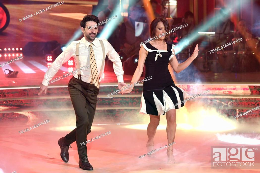 Imagen: Nunzia De Girolamo during the performance at the talent show ' Ballando con le stelle ' (Dancing with the stars) Rome, ITALY-14-04-2019.