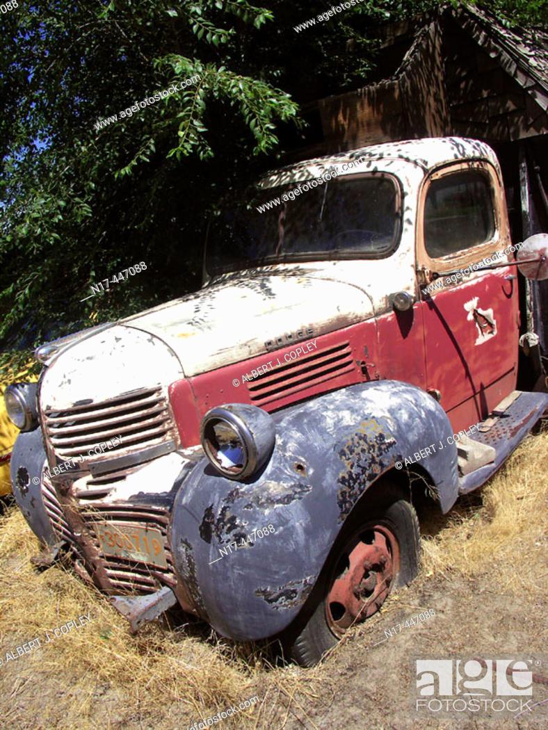 Stock Photo: Antique automobile.