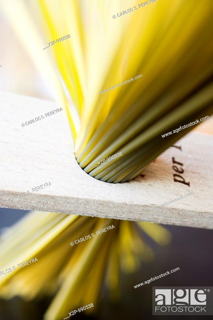 Stock Photo: italian pasta.