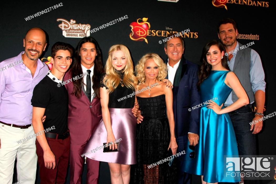 Descendants Premiere At Walt Disney Studios Main Theatre Arrivals Featuring Descendants Cast Stock Photo Picture And Rights Managed Image Pic Wen Wenn22718942 Agefotostock