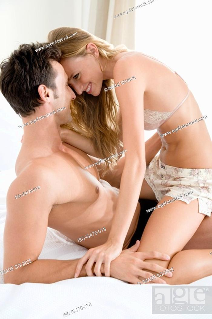 Stock Photo: Intimate couple.