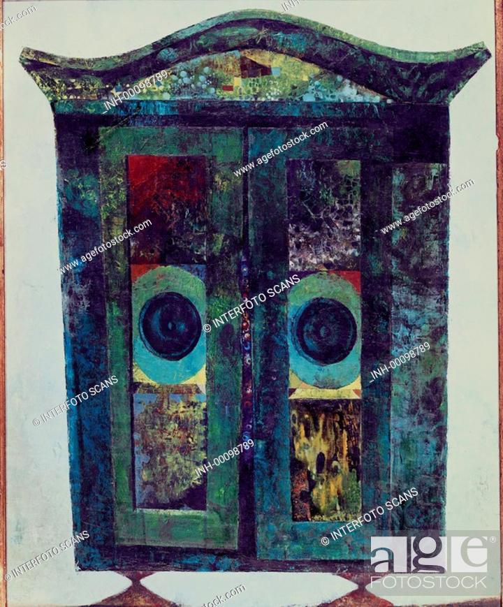 U Kunst Trnka Jiri 1912 1969 Schrank Gemalde Privatsammlung