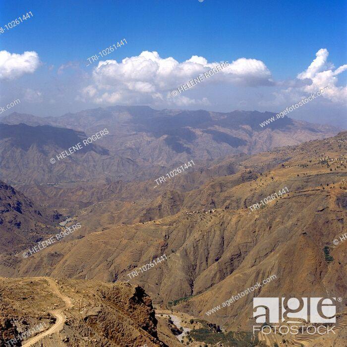 Imagen: Nr Amran Yemen Mountainous Landscape.