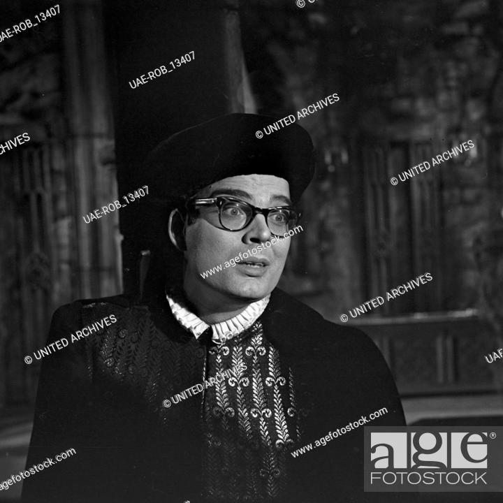 Imagen: Das Gespenst von Canterville, Fernsehfilm, Deutschland 1964, Regie: Helmut Käutner, Darsteller: Barry McDaniel.
