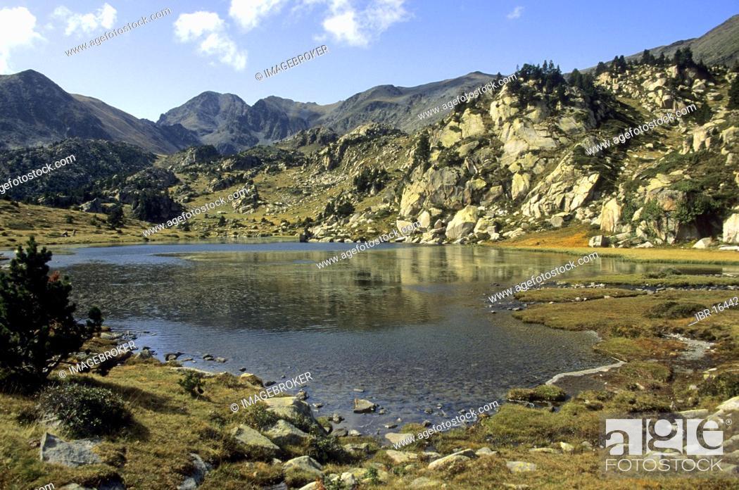 Stock Photo: Massif of Carlit, Département Pyrénées-Orientales, Region Languedoc-Roussillon, France, Europe.