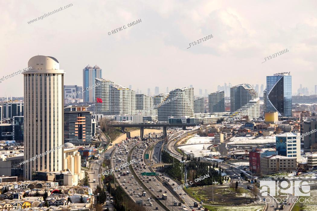 Stock Photo: Istanbul European side.