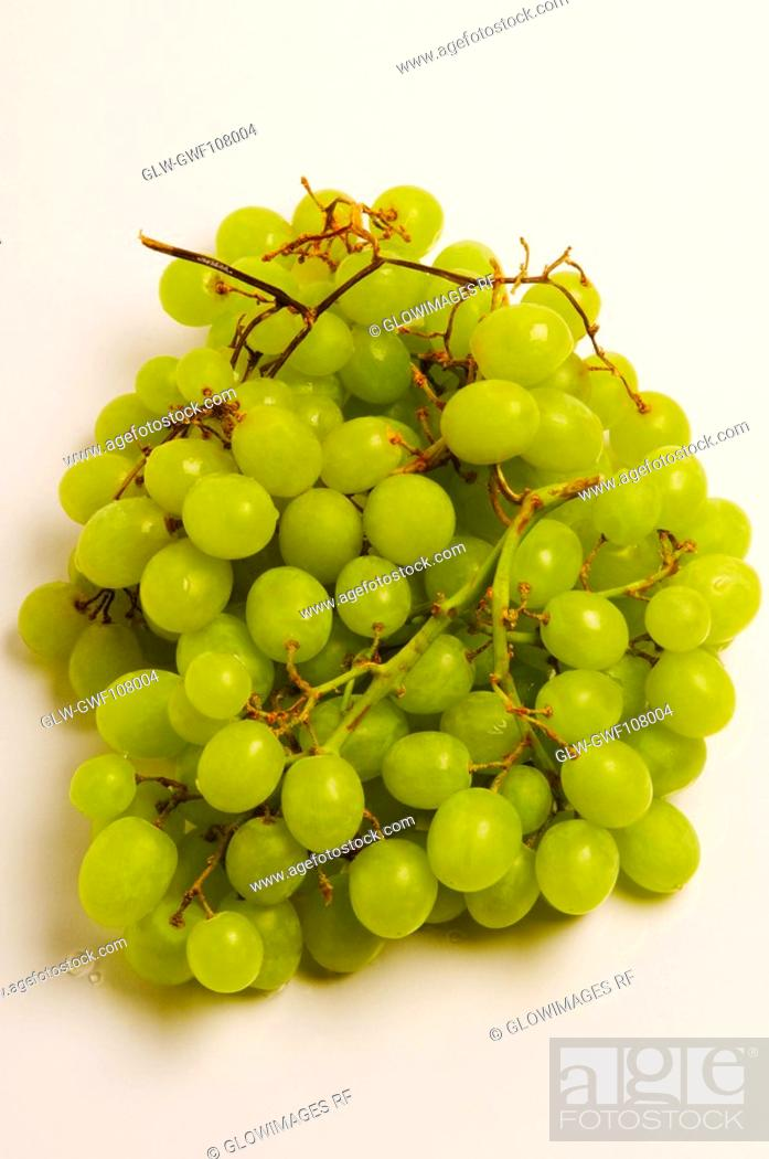 Stock Photo: Close-up of a bunch of grapes.