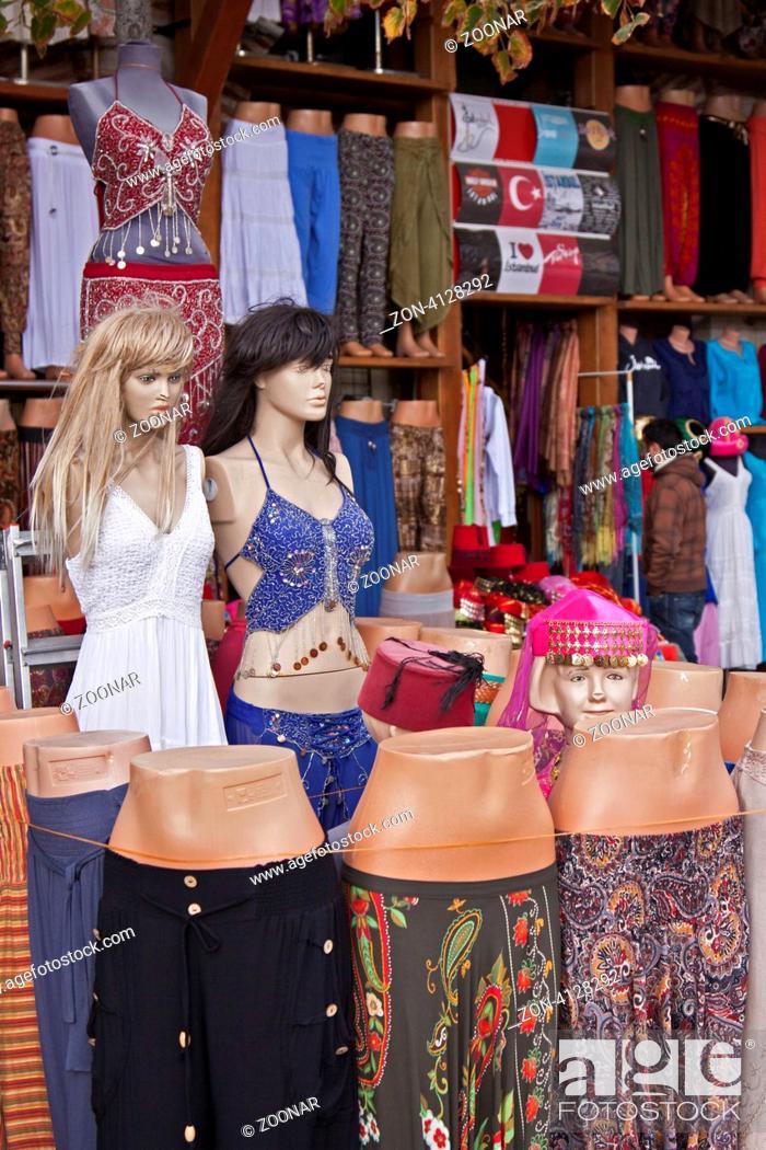 Bekleidungsgeschäft, Istanbul, Türkei Clothing shop, Istanbul