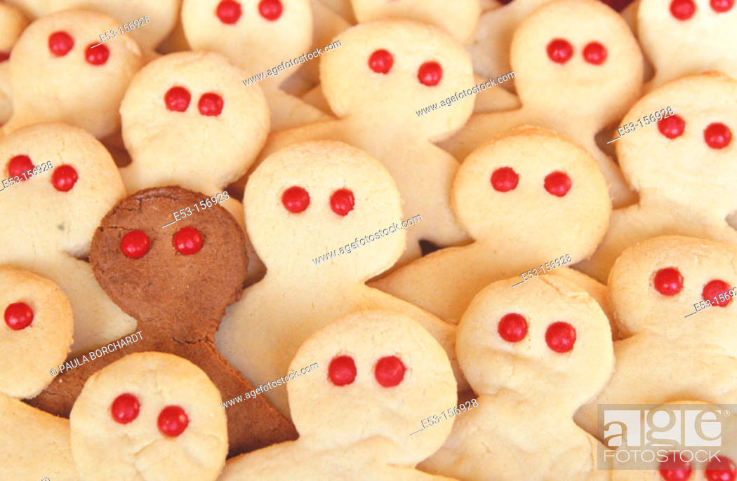 Stock Photo: People-shaped cookies.