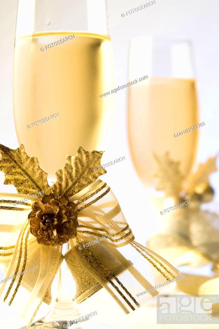 Stock Photo: Champagne.