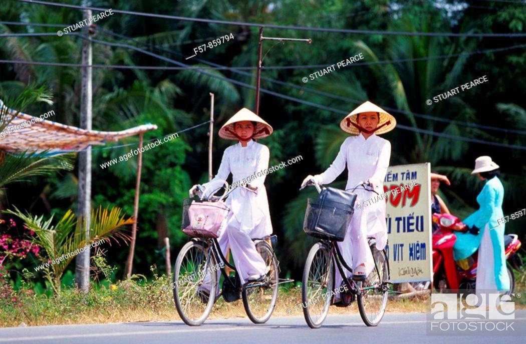 Imagen: Cyclists, Vietnam.