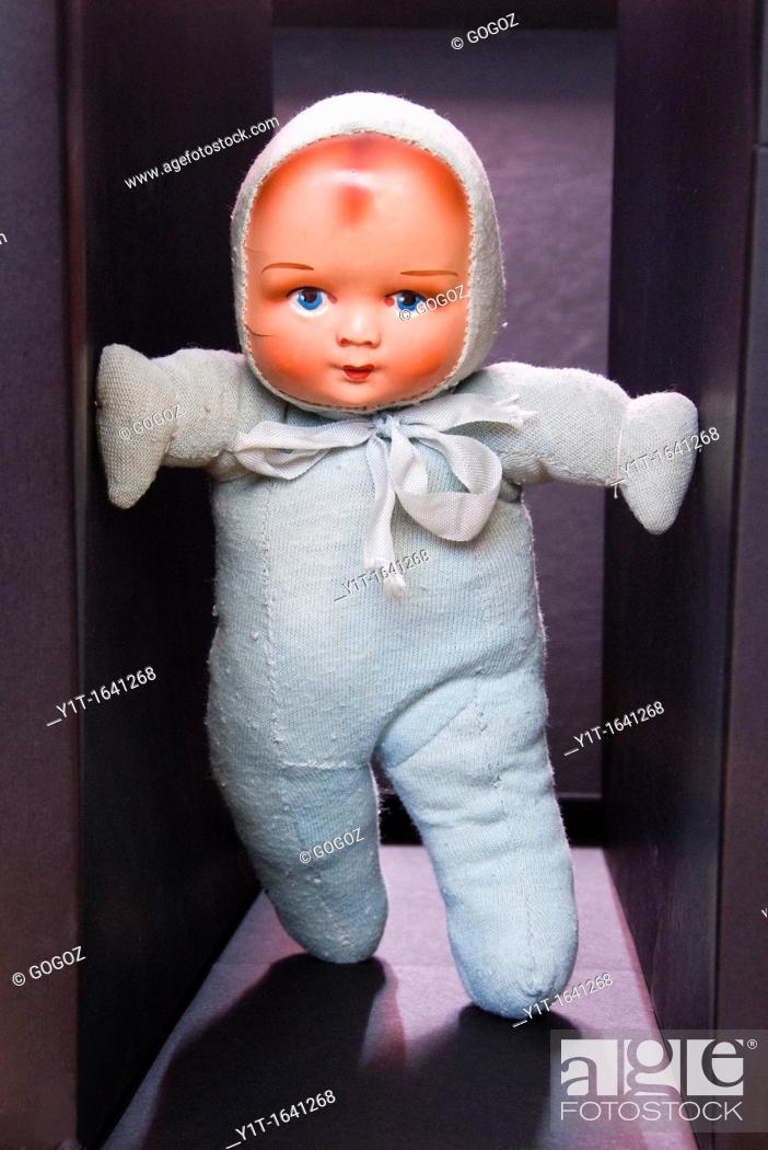 Stock Photo: Concept, Object Doll in hall.