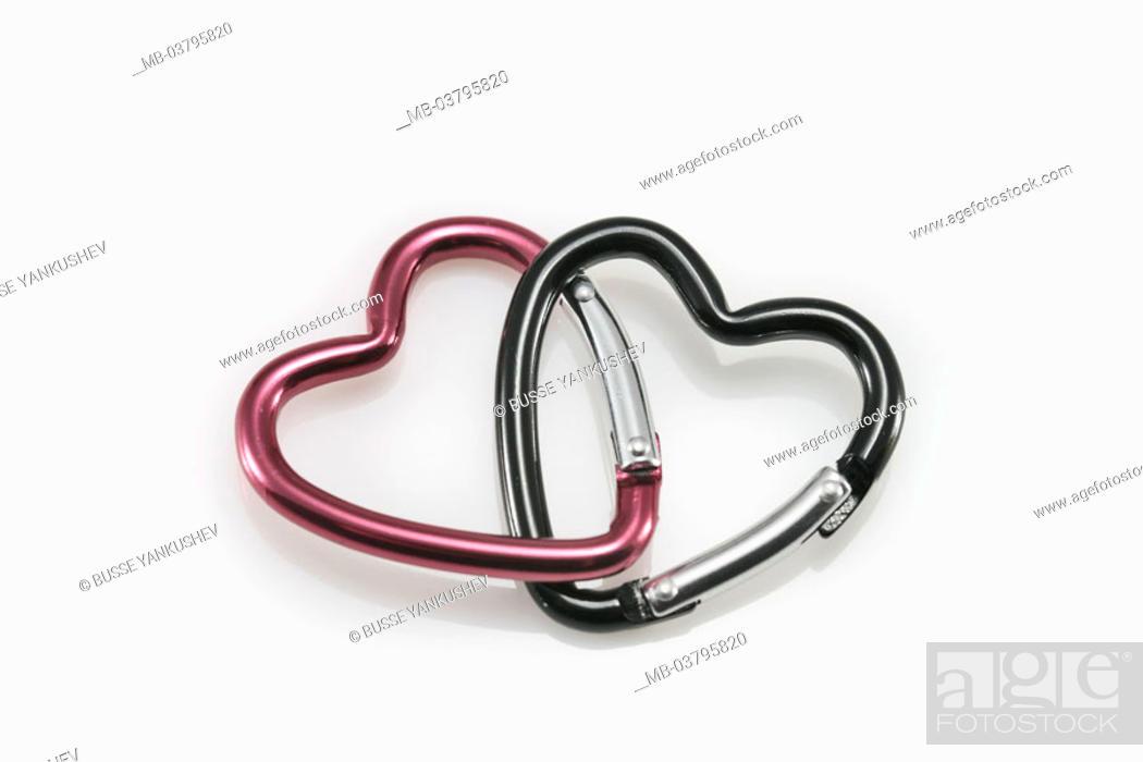 Carbines Heart Shaped Devoured Carbine Hooks Hearts Two Couple