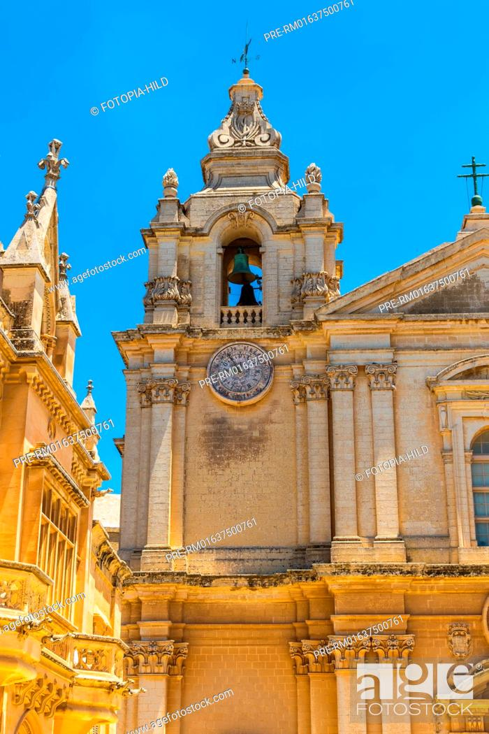 Imagen: Metropolitan Cathedral of Saint Paul in Mdina, Malta / Kathedrale St. Paul in Mdina, Malta.