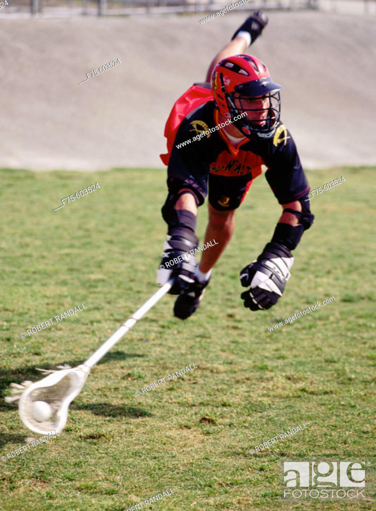 Stock Photo: Lacrosse.