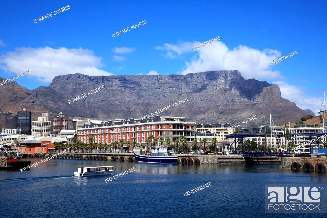 Stock Photo: Cape town harbour.