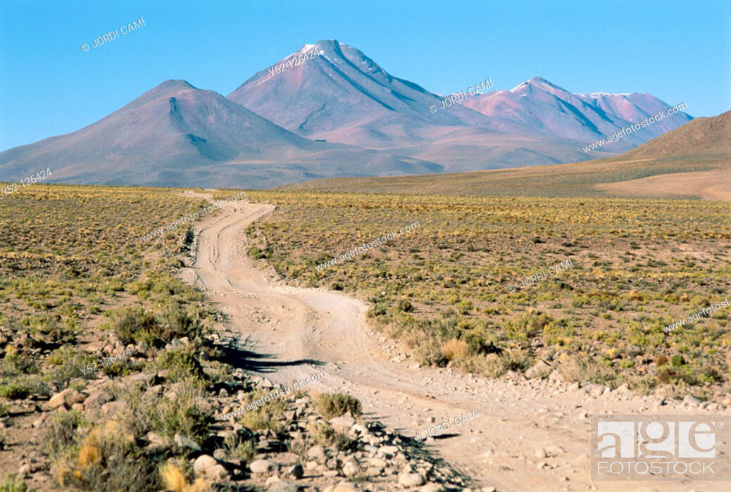 Stock Photo: Los Andes, Southwestern Bolivia.