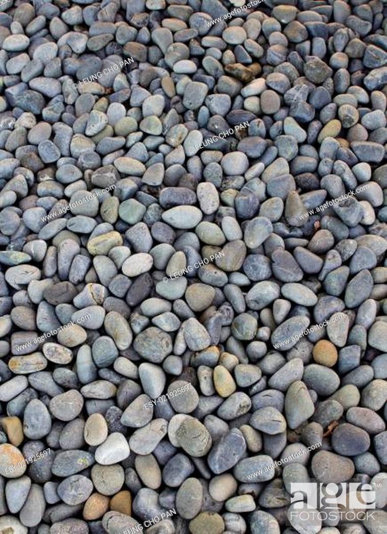 Stock Photo: Pebble stone.