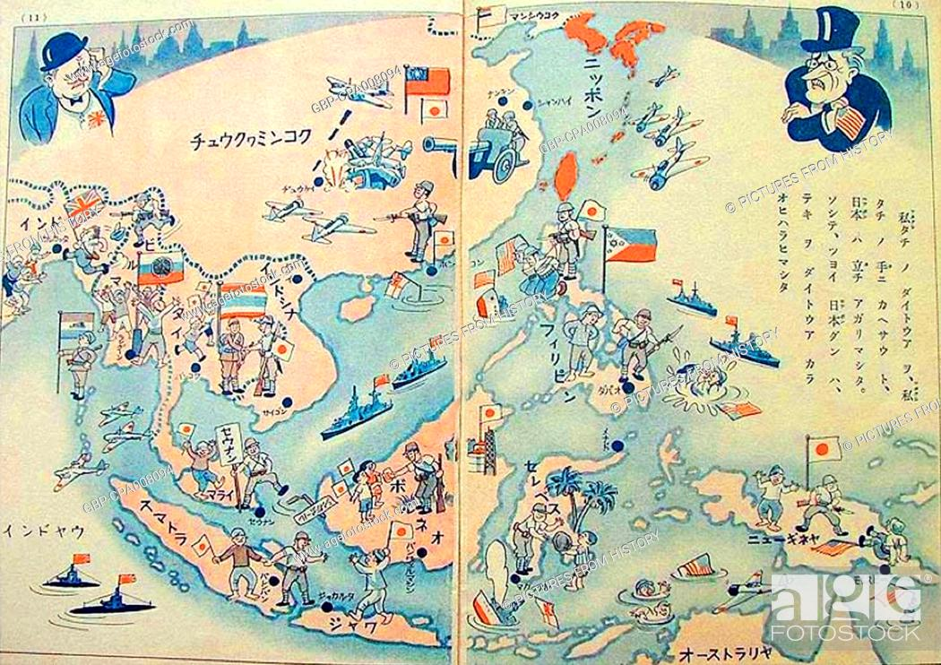 Japan Imperial Japan S Proposed Greater East Asia Co Prosperity