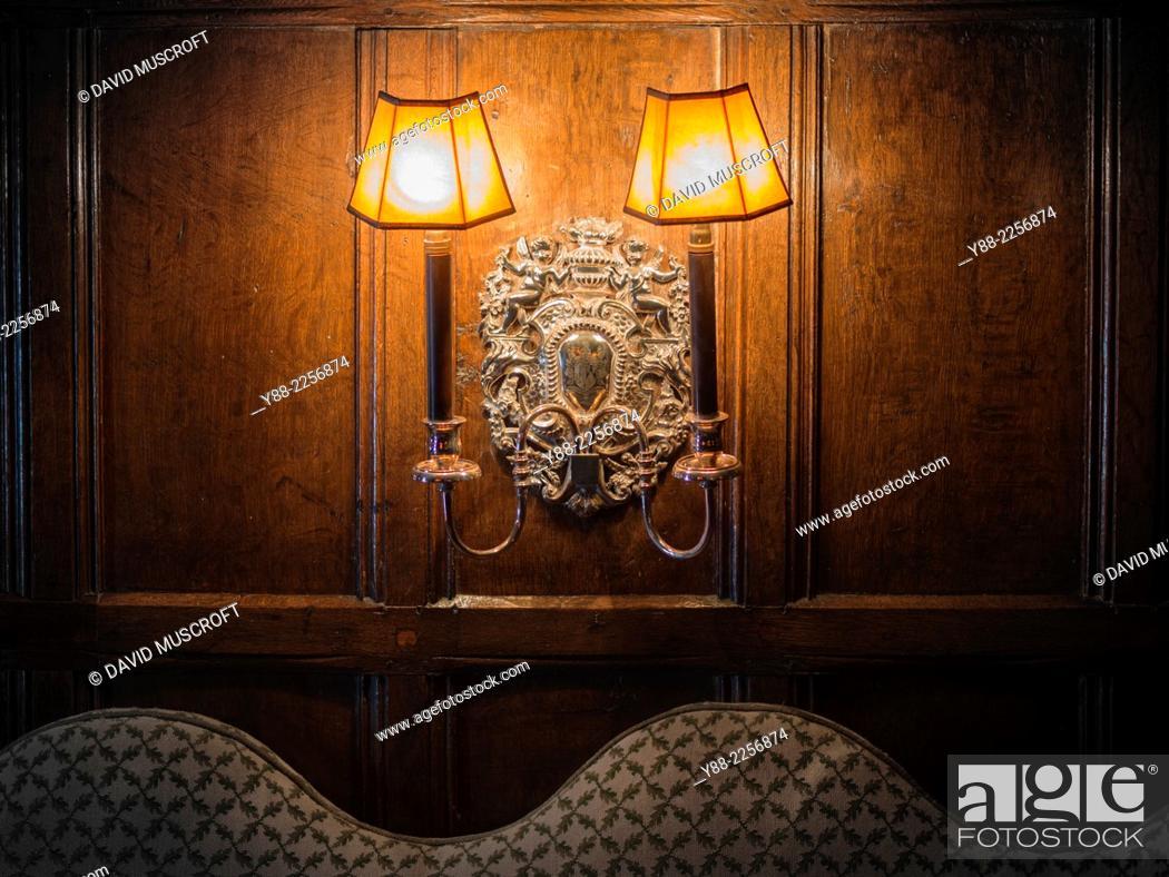 Stock Photo: interior, traditional English house.
