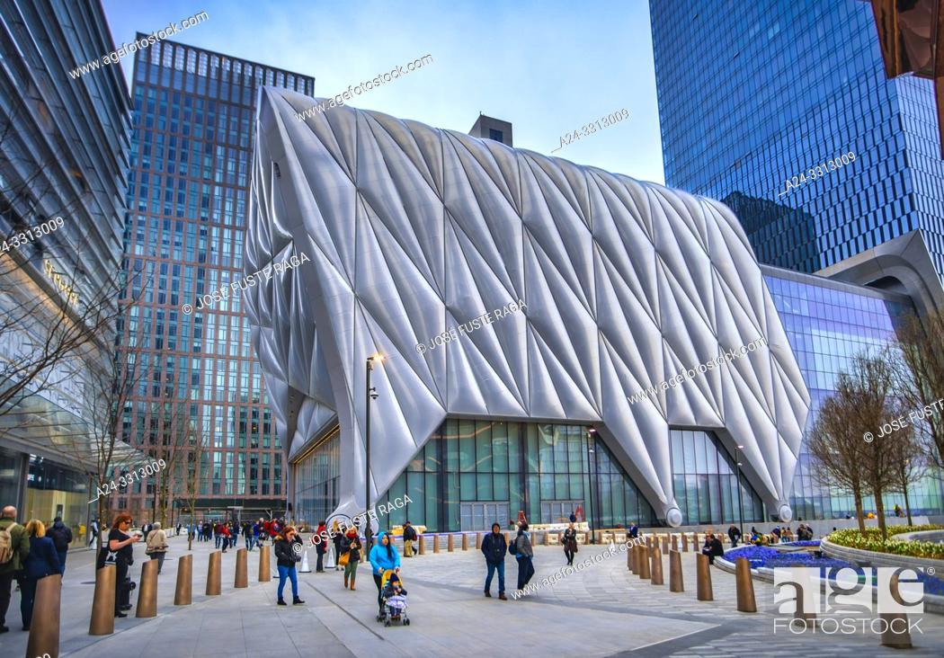 Stock Photo: USA, New York City, Manhattan, Midtown, Hudson Yards.