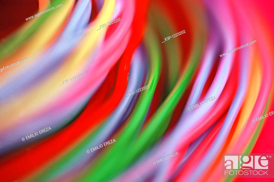 Stock Photo: Wires.