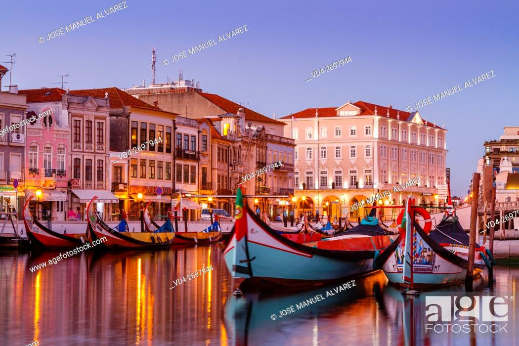 Imagen: Imagen taken on a street in the city of Aveiro, Portugal. A famous portuguese city known for its river and canal. Sometimes it is called the Venice Portuguese.