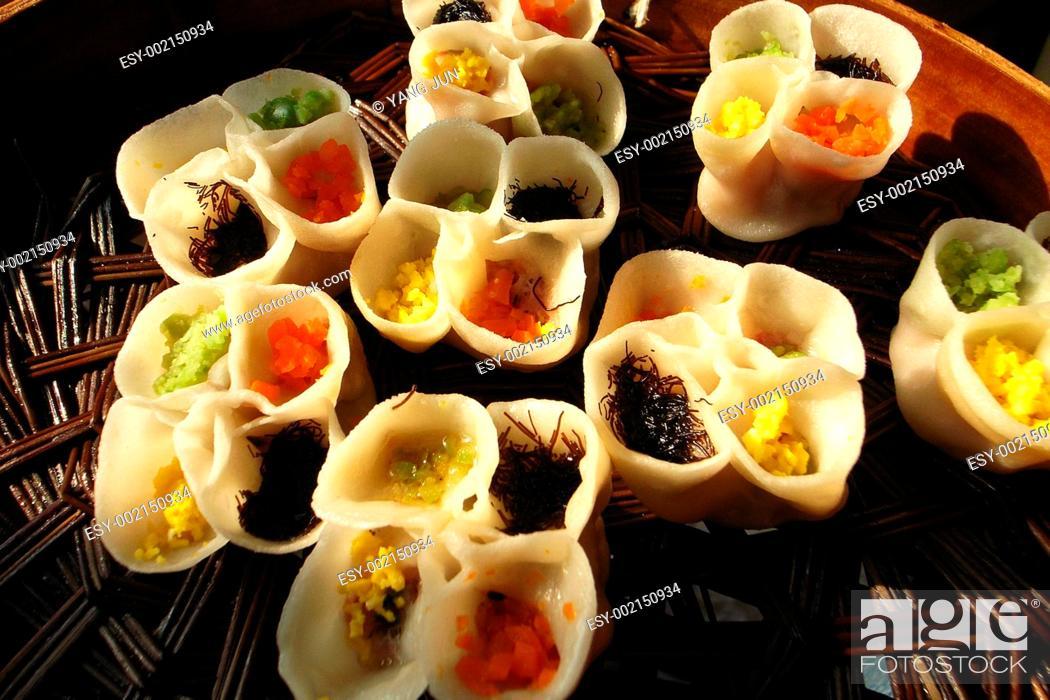 Stock Photo: Dumplings.