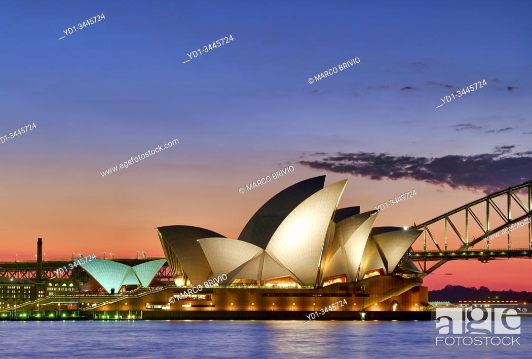 Stock Photo: Sydney Australia. Opera House.