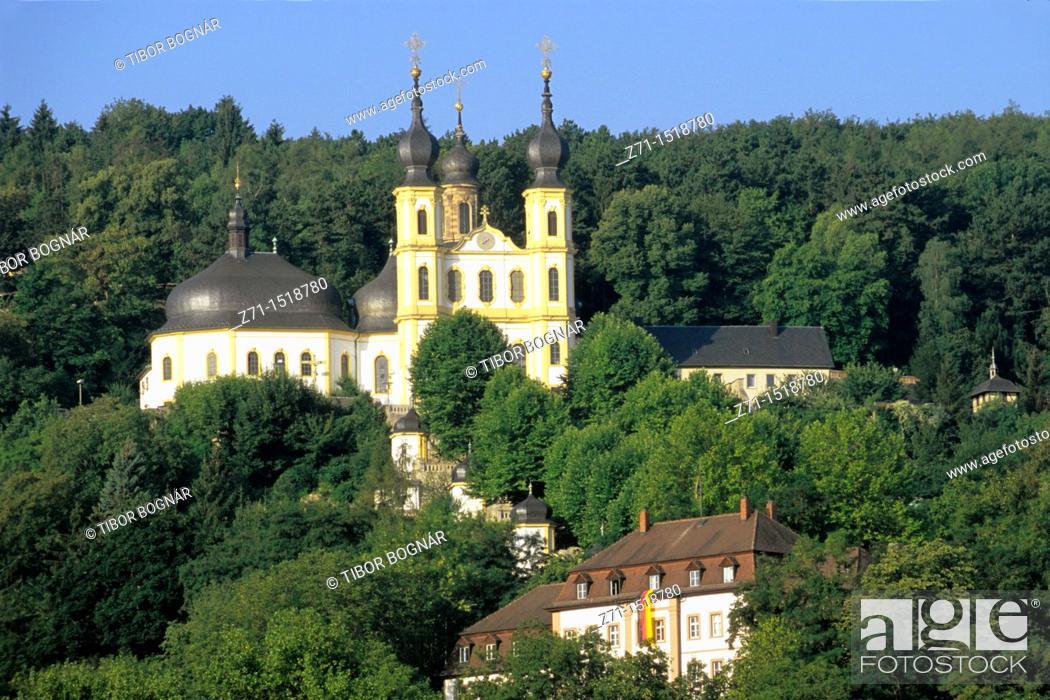 Stock Photo: Baroque Chapel, Würzburg, Bavaria, Germany.