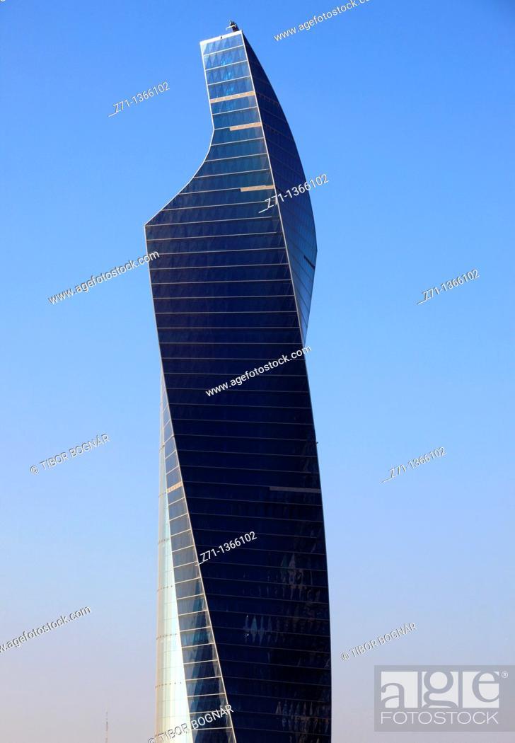 Stock Photo: Kuwait, Kuwait City, skyscraper, highrise, building,.
