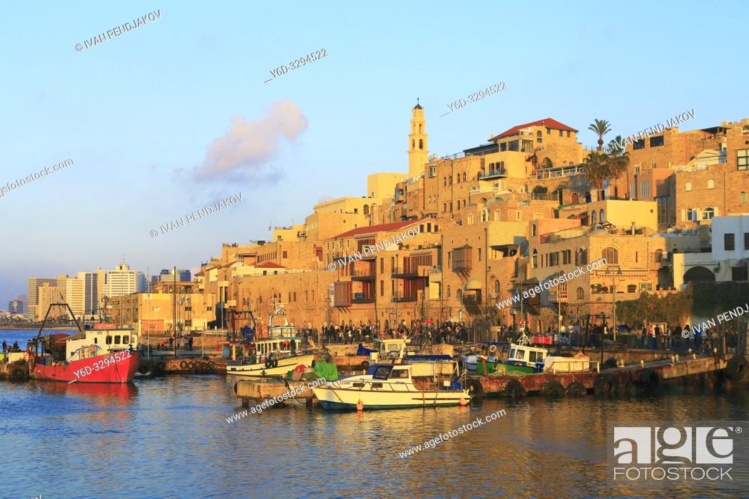 Stock Photo: Jaffa, Tel Aviv, Israel.