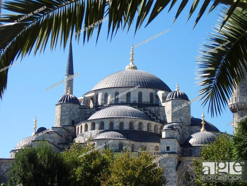 Stock Photo: The Blue Mosque, Istanbul.