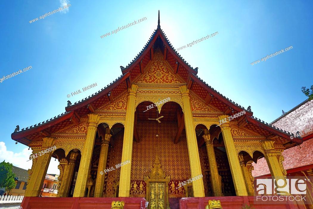 Stock Photo: Wat Sen temple, Luang Prabang, Laos.