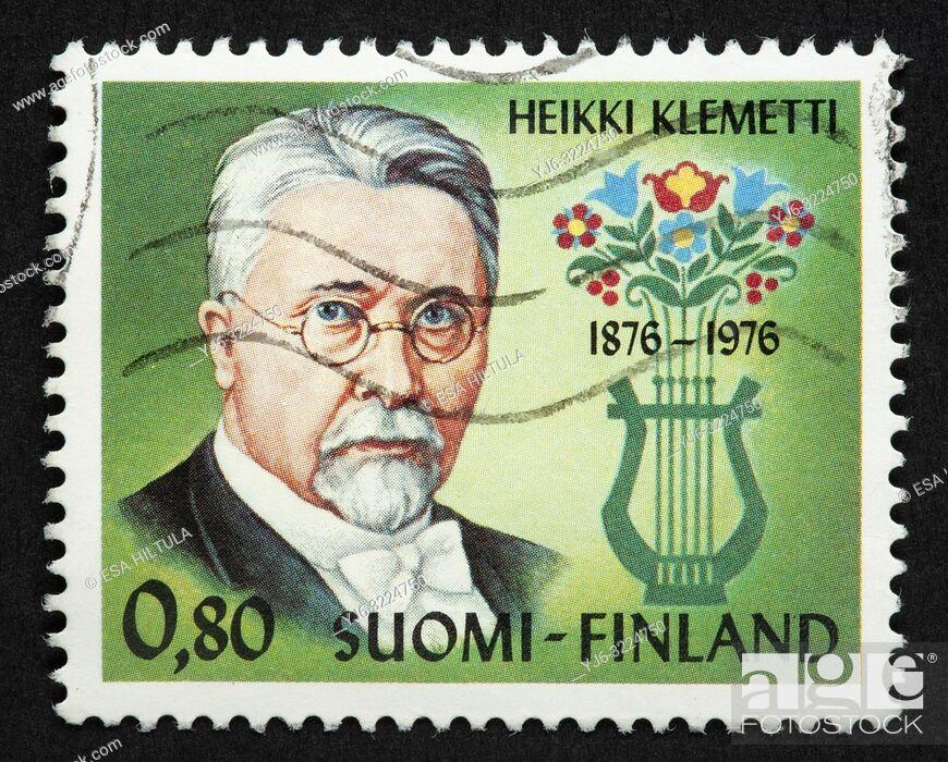 Stock Photo: Finnish postage stamp.