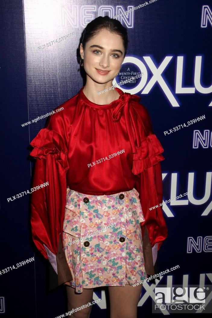 "Imagen: Raffey Cassidy 12/05/2018 The Los Angeles Premiere of """"Vox Lux"""" held at the Arclight Hollywood in Los Angeles, CA Photo by Izumi Hasegawa / HNW / PictureLux."